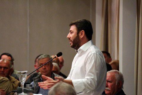 Νίκος Ανδρουλάκης από Καβάλα  Δεν είμαι εδώ για να ηγηθώ ενός μικρού  κόμματος-Ομιλία με σκληρή κριτική και… αυτοκριτική  φωτογραφίες  1e297787202
